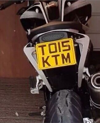 1# Number Plate Holder Yamaha   WR125 R   WR125 X   2009-2017   Tail Tidy