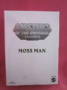 Moss Man Motu Classic R6250 Scellé Maîtres Des Univers Classiques