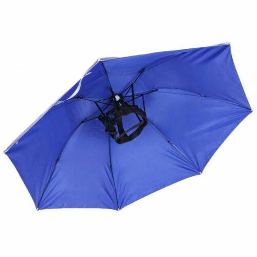 Foldable Head Umbrella Hat Anti-Rain Anti-UV Outdoor Paraguas Cabeza Parapluie