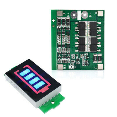 3S 12V//25A 18650 Li-ion Lithium Battery BMS Protection PCB Board With Balance~UK