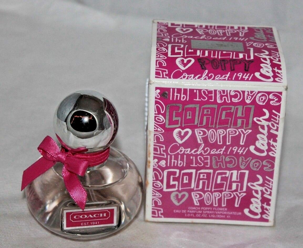 Coach Poppy Flower 1oz Womens Eau De Parfum For Sale Online Ebay