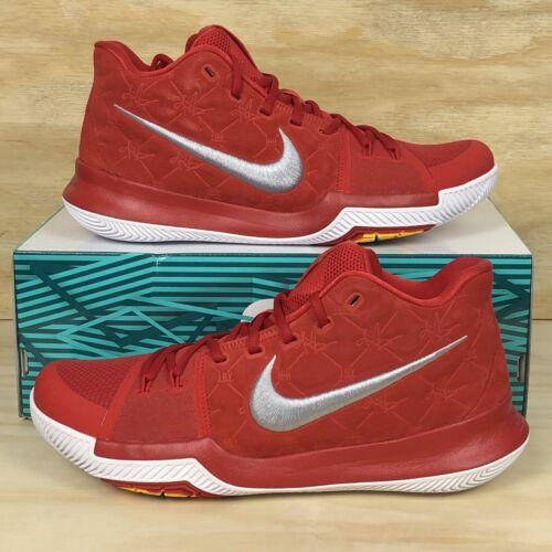 de Suede Kyrie o Zapatillas Tama 852395 601 Grey 3 baloncesto White Nike Red University 4FpHR