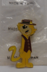 Vintage Hanna Barbera Cartoons 1987 Top Cat//Don Gato Enamel Pin