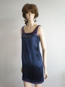 Elegant Satijnen Vera Label maat 2 Wang jurk 36 Lavender geruite 8nwOvmN0