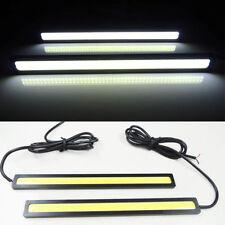 2* 12V LED COB Car Auto DRL Driving Daytime Running Lamp Fog Light White 14cm SM