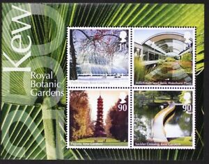 GR-BRITAIN-2009-2670-MS2941-Kew-Royal-Botanic-Gardens-Mini-Sheet-S-S-Mint-NH