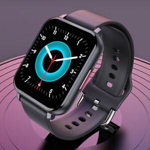 Bluetooth-Smart-Watch-oxygene-du-sang-moniteur-de-frequence-cardiaque-Telephone-Mate-pour-Android