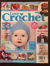 Love Crochet Amigurumi Hook Up Ladybug Hat Cowl Ideas Sep 2015 FREE SHIPPING JB