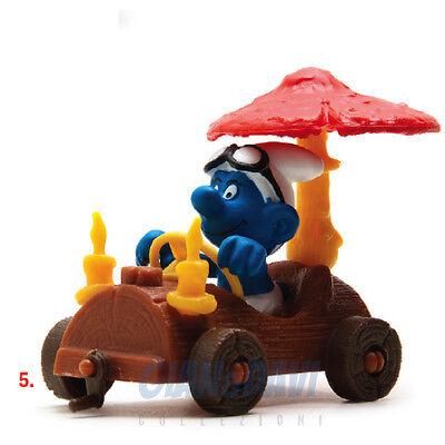 Bello Puffo Puffi Smurf Smurfs Schtroumpf 4.0232 40232 Log Car 5a I Consumatori Prima