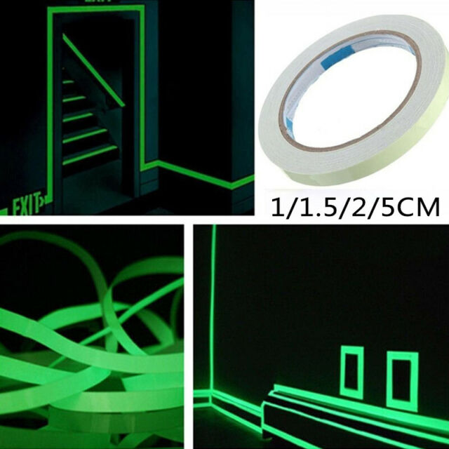 Sticker Removable Adhesive Tape Luminous Glow-In-The-Dark Stair Decorations DIY