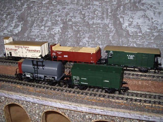 MÄRKLIN 4510 Güterwagenset Württemberg Ep 1 NEU Auf Auf Auf Wunsch DC-Achstausch gratis    Sonderpreis  6931f3