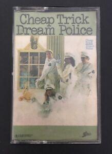 CHEAP-TRICK-039-DREAM-POLICE-039-Cassette-Tape-Album