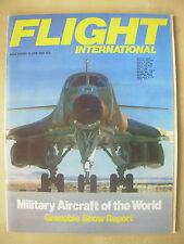 FLIGHT INTERNATIONAL JUNE 12th 1982 MILITARY AIRCRAFT OF THE WORLD