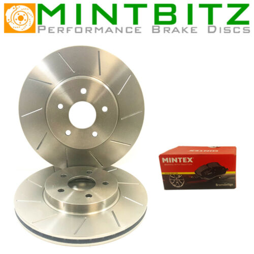 Front Brake Discs /& Pads Compatible With Nissan Micra C+C 1.41.6 05-09