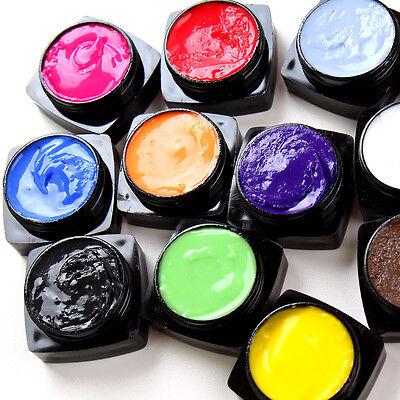 8 Colors Manicure 3D UV Sculpture Gel Nail Art Tip Creative Decoration Beauty
