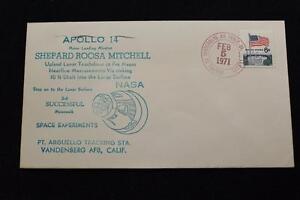 Espacio-Cubierta-1971-Mano-Cancelado-Apolo-14-3RD-Exitoso-Moonwalk-PT-Arguello