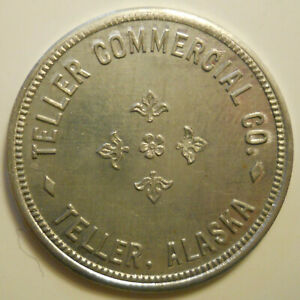 Teller Commercial Company good-for 50-cent trade token Alaska