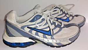 online store 50d3b 171cb Details about Shoes NIKE REAX RUN 3 Mens Sneakers Size 7 White Gray Blue