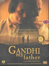 GANDHI MY FATHER -  AKSHAYE KHANNA - NEW EROS BOLLYWOOD DVD - FREE POST UK