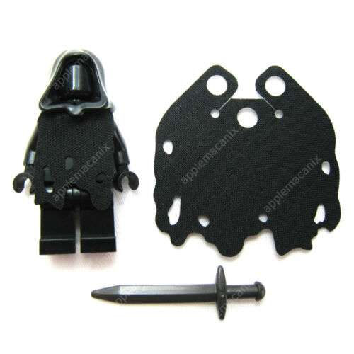 NEW LEGO Lord of the Rings RINGWRAITH MINIFIGURE /& HORSE w//Custom Cape 9472 LOTR