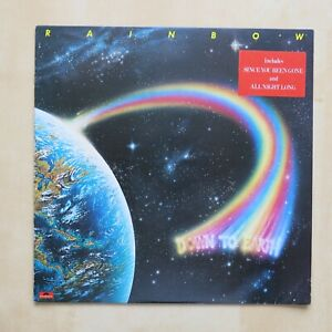RAINBOW-Down-To-Earth-UK-1st-press-vinyl-LP-with-inner-Polydor-039-79-Nr-Mint-vinyl