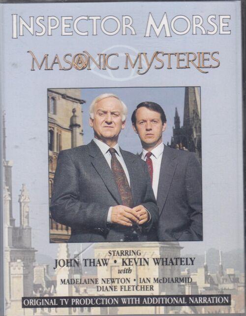 Inspector Morse Masonic Mysteries TV Series 2 Cassette Audio Colin Dexter