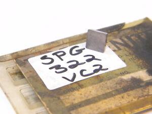NEW-SURPLUS-6PCS-VALENITE-SPG-322-GRADE-VC2-CARBIDE-INSERTS
