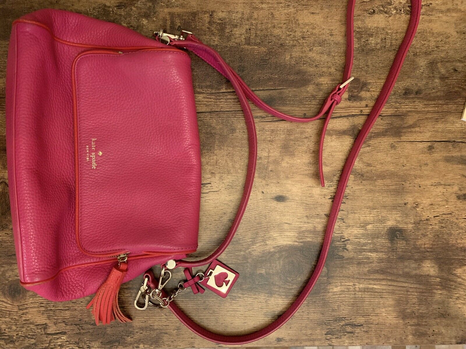 Kate Spade Chester Street Miri Hot Pink Crossbody… - image 1