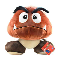 Holiday Sale Little Buddy Usa Super Mario - 12 Large Goomba Stuffed Plush Doll