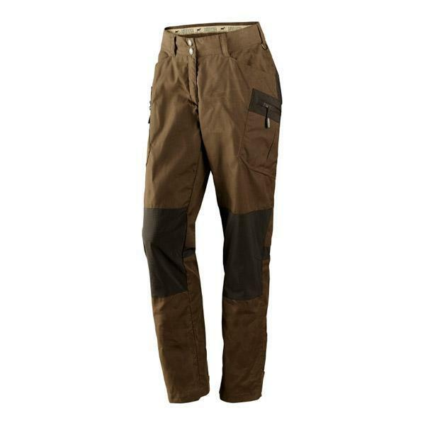 Harkila Mountain Trek Active Lady Trousers Size Tabacco Shadow Brown
