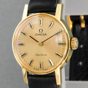 Damen-Armbanduhr-Omega-Handaufzug
