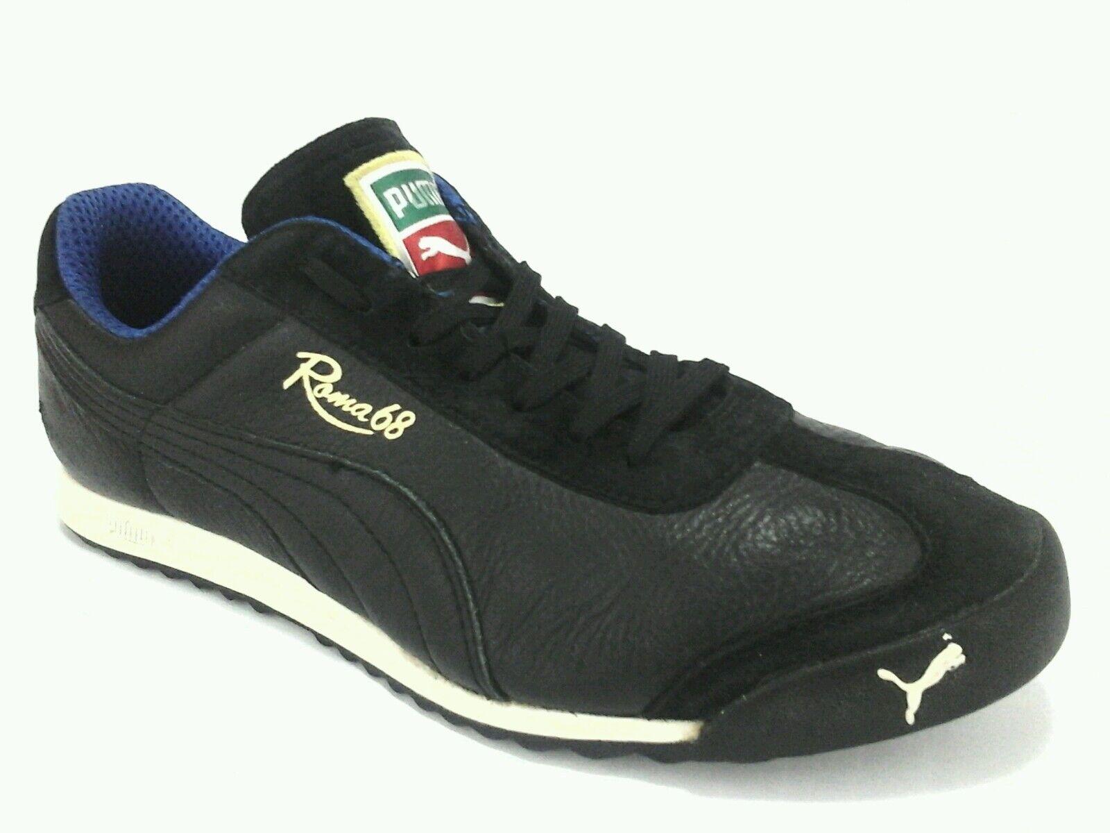 Le scarpe di di di pelle nera, retro rom 68 / greves Uomo tennis noi 9 rari 81f170