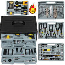 99 Pcs General Home Machine Tools Set Hand Tool Socket Wrench Household With Box