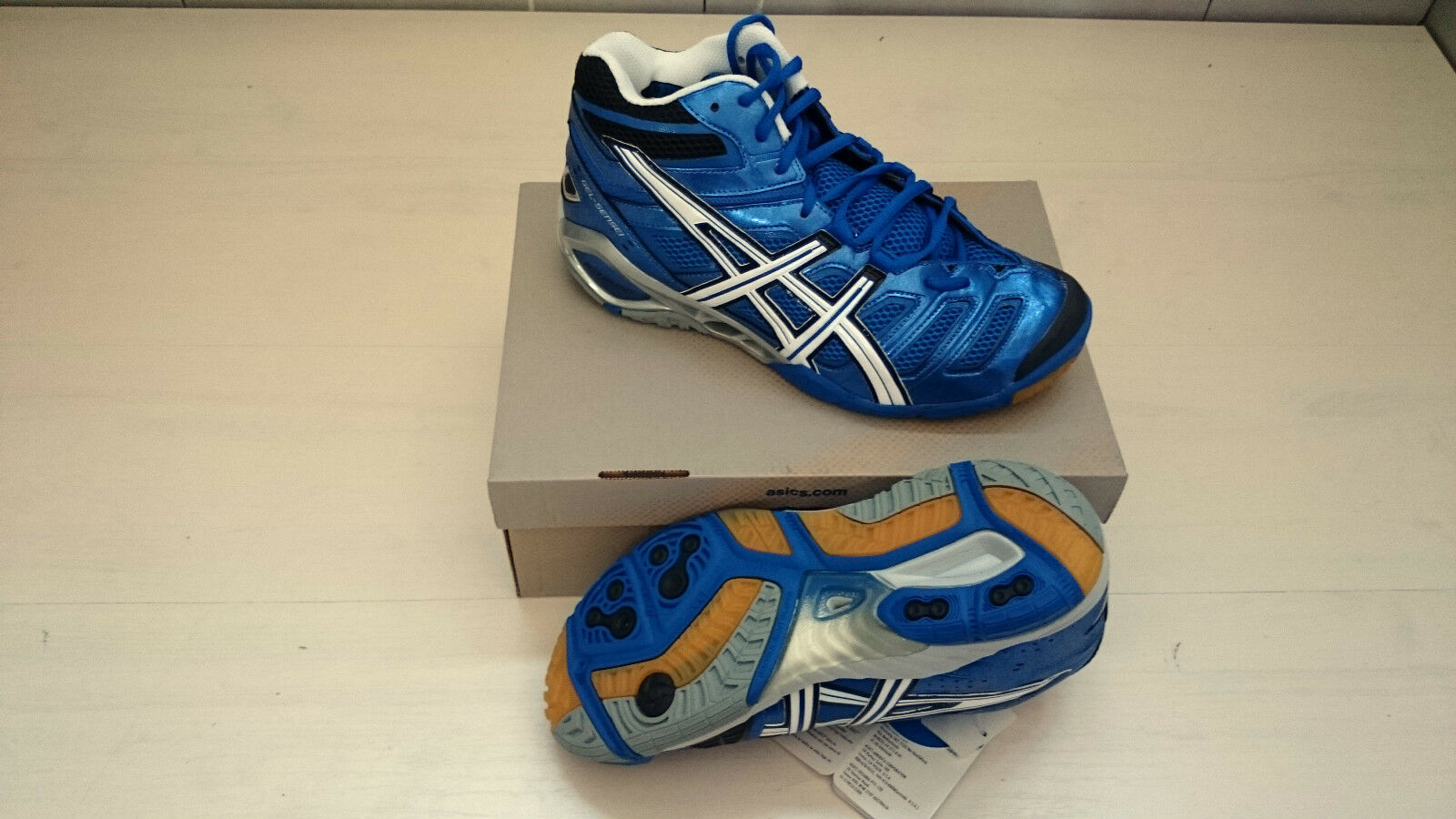 FW17 ASICS FIPAV shoes GEL SENSEI 4 MT CLASSIC PALLAVOLO SHOES MAN B202Y-4201