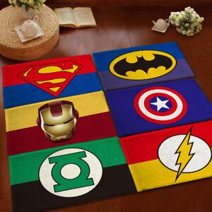 Image Is Loading Marvel Superhero Floor Rug Rectangle Anti Slip Bedroom