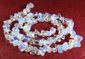 Opalith-vetro-opalino-Nuggets-6-12-mm-perline-Strand-olit-1