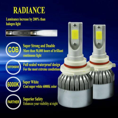 H11 9005 LED Headlights Bulb 5400W 810000LM Combo Hi Lo Beam 6000K Lamp 9006