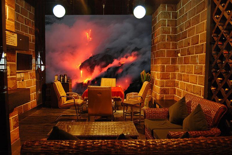 3D Rauchflamme 863 Tapete Wandgemälde Tapete Tapeten Bild Familie DE Summer