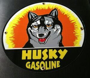 Husky-Oil-Gasoline-gas-sign