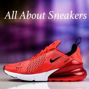 Nike-Air-Max-270-034-Habanero-Red-034-Men-039-s-Trainers-Limited-Stock-All-Sizes-YOGI