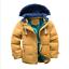 Mode-enfants-VESTE-Avec-Capuche-Parka-Matelasse-Manteau-Garcon-hiver-manteau-Taille-104-146 miniature 2
