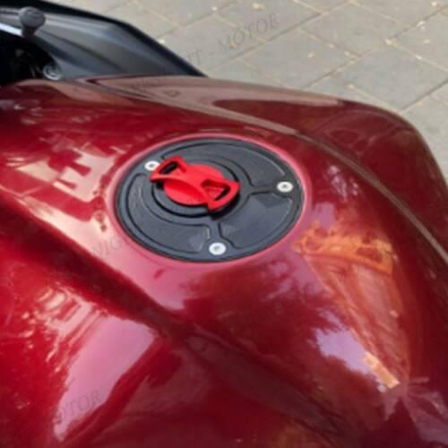 Keyless Engraved Twist Off Gas Fuel Tank Cap For Triumph Street Triple 2007-2008