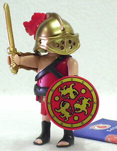 GLADIATEUR-avec-lance-Romain-PLAYMOBIL-FIGURINES-6-Boys-5458-a-Arena-legioon