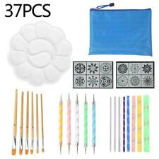 37 Pcs Nail Art GEL Design Pen Painting Polish Brush Dotting Drawing Tools Set