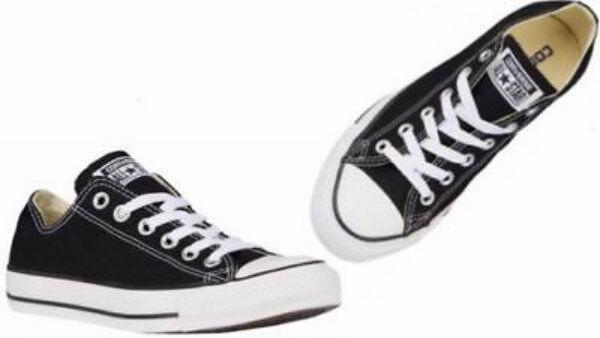 M9166 CONVERSE Men's CT Chuck Taylor BLACK WHITE OX Casual shoes
