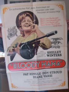 Kino-Plakat Bloody Mama A1 19?? - <span itemprop=availableAtOrFrom>Regensburg, Deutschland</span> - Kino-Plakat Bloody Mama A1 19?? - Regensburg, Deutschland