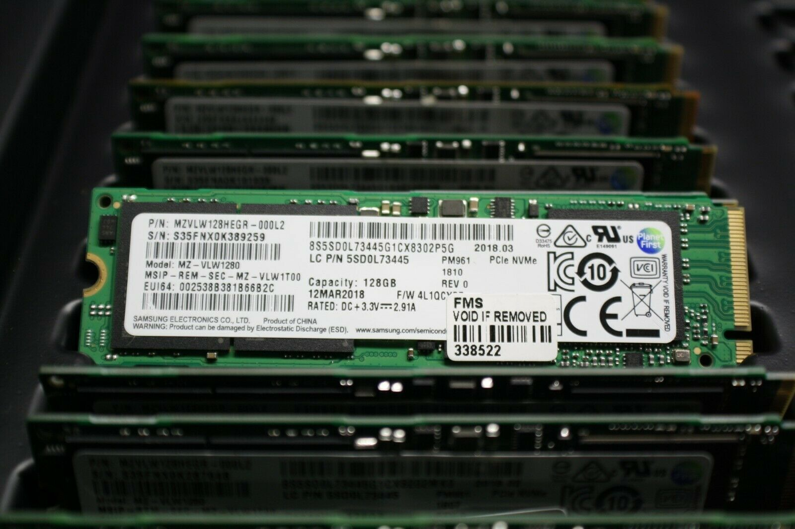 128GB SSD Samsung PM961 M.2 PCIe Gen3 x4 2280 NVMe V-NAND Solid state drive. Buy it now for 19.00