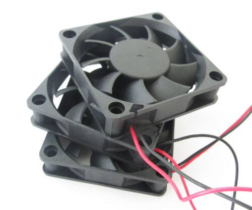 50pcs60x60x15mm 6015 9 blades 24V 0.10A 2pin Connector  Brushless DC Cooling Fan
