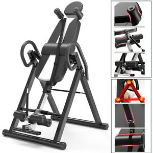 folding inversion table invert align therapy bench reduce