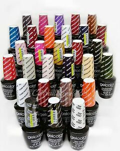 Gelcolor-Soak-Off-Nail-Gel-Polish-opi-series-2-5oz-Pick-Your-Color-Top-Base